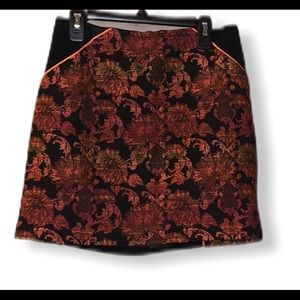 Ted baker 0/00 skirt with Aztec detail